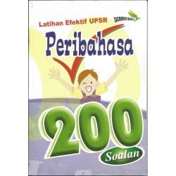 Latihan Efektif UPSR Peribahasa 200 Soalan