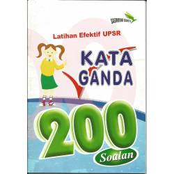 Latihan Efektif UPSR Kata Ganda 200 Soalan