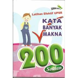 Latihan Efektif UPSR Kata Banyak Makna 200 Soalan