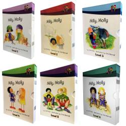 Milly, Molly Level 1-6 books collection set (60 books)