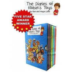 The Diaries of Robin's toy box set collection (10 books)