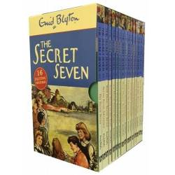 Enid Blyton Secret Seven Collection (16 books)