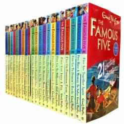 Enid Blyton famous five series (21 books)