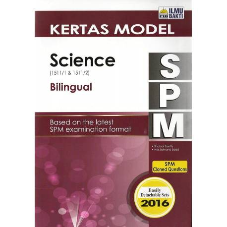 Kertas Model SPM Science (Bilingual) (Last)