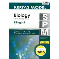 Kertas Model SPM Biology (Bilingual)
