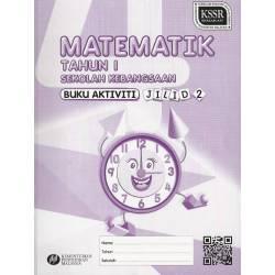 Buku Aktiviti Math 1 Jilid 2 SK KSSR SEMAKAN