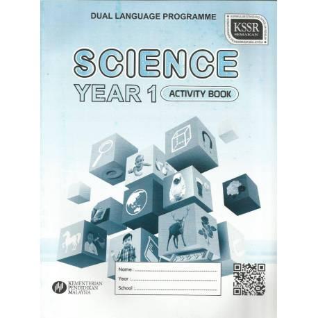 Buku Activity Science Dual Language 1 SK KSSR SEMAKAN