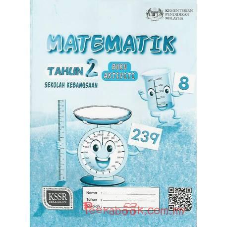 Buku Aktiviti Matematik Tahun 2 SK