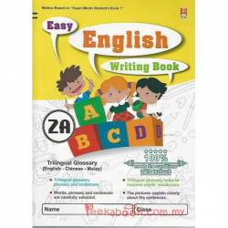 Easy English Writing Book 2A