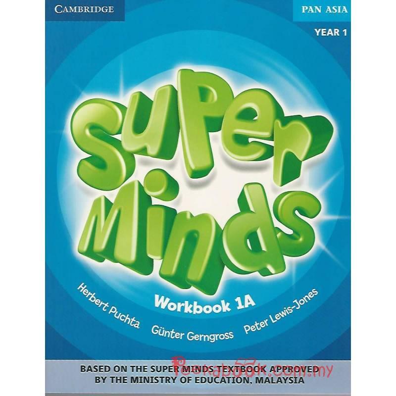 Super Minds Workbook 1A Year 1